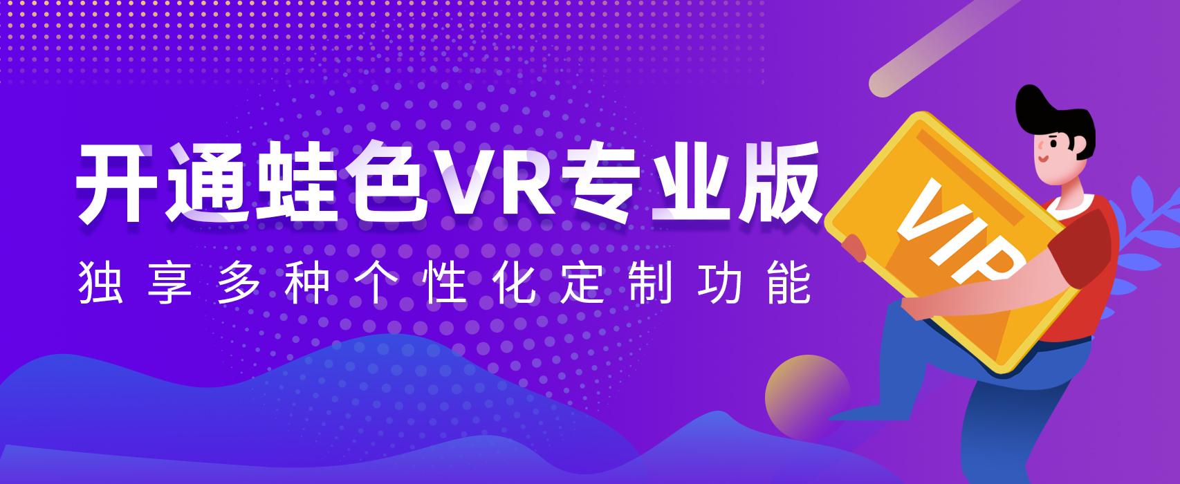 蛙色VR专业版,独享多种个性化功能